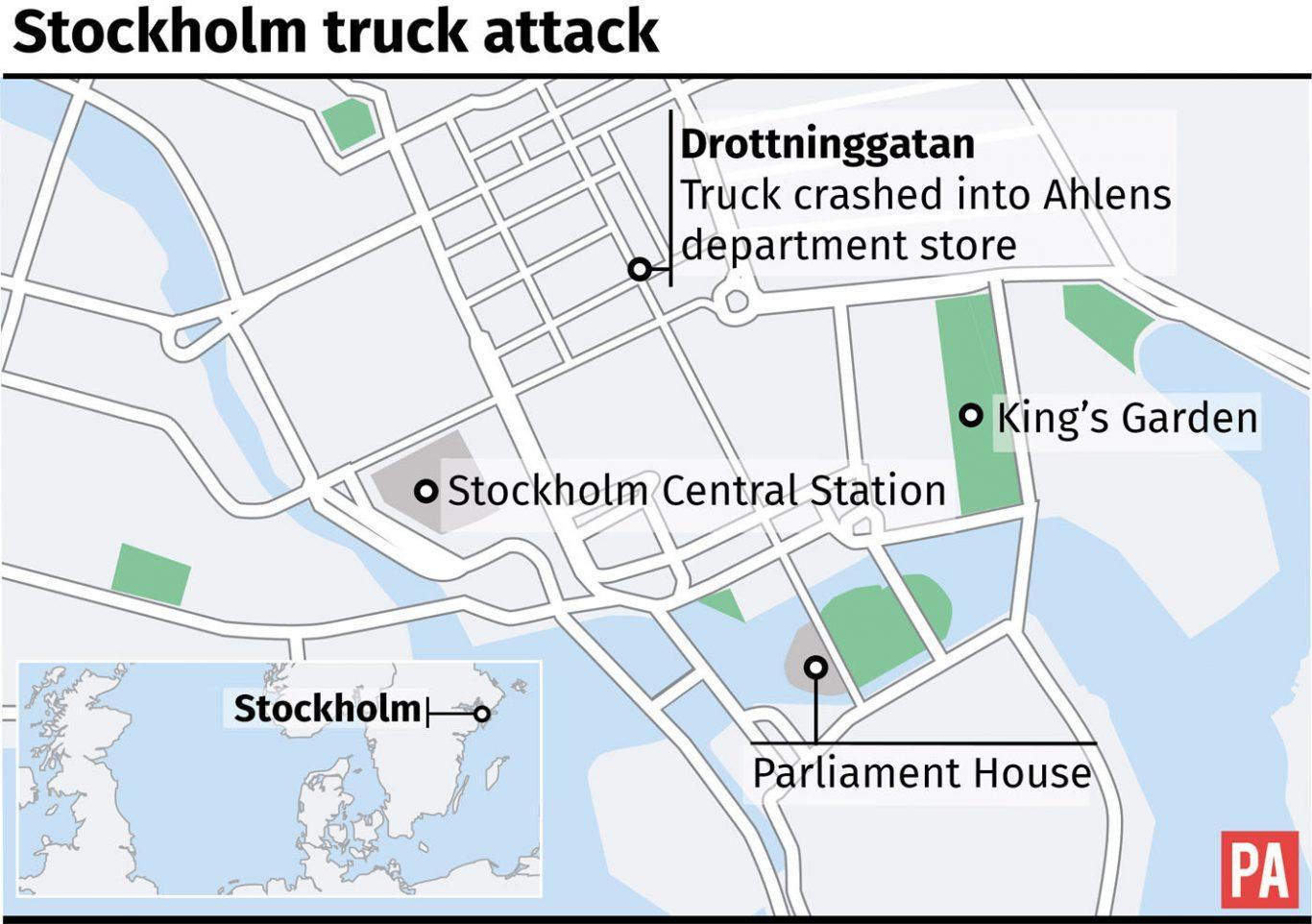 Karta Stockholm Drottninggatan.Drottninggatan Stockholm Karta Karta Over Drottninggatan I