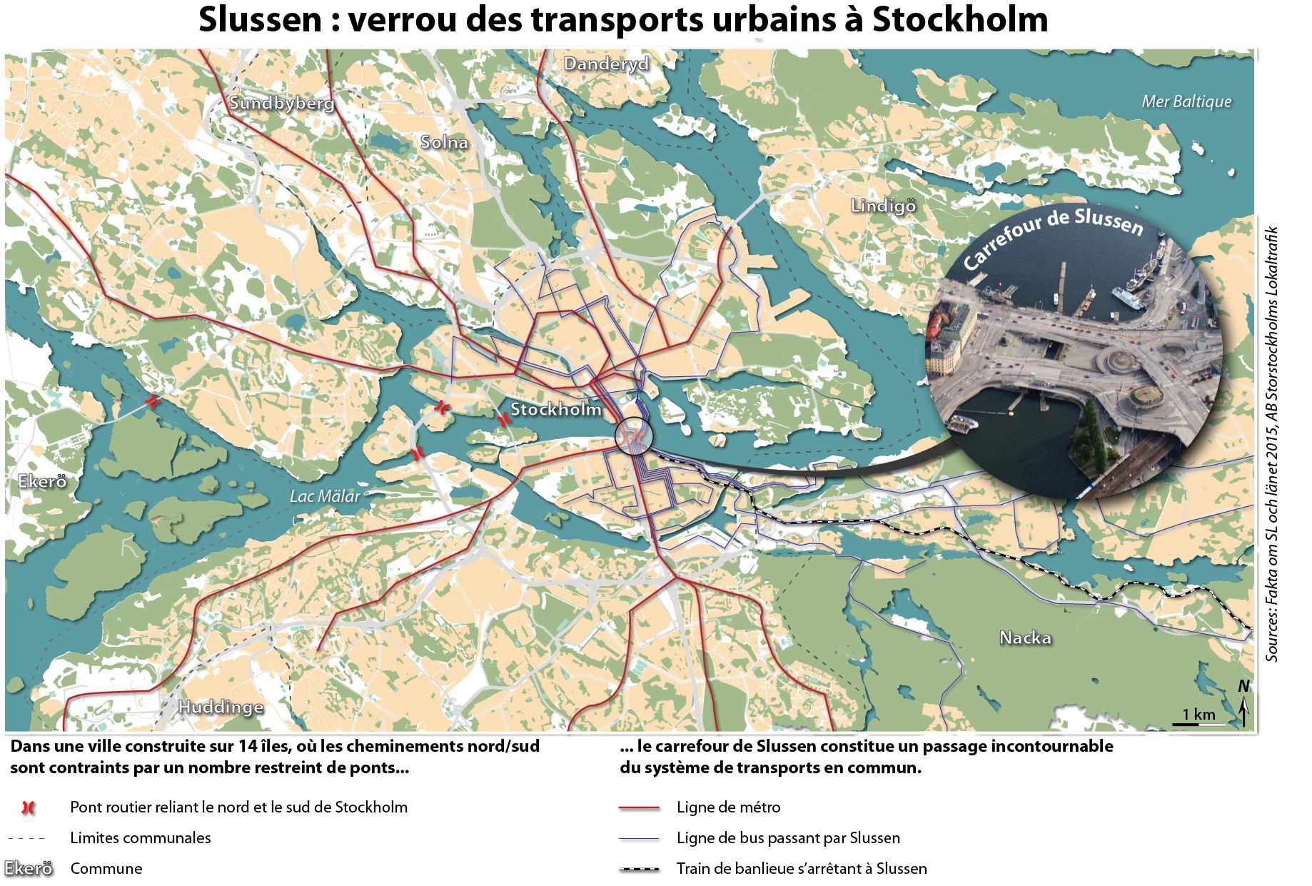 Slussen Stockholm Karta Karta Over Slussen Stockholm