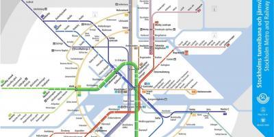 Karta Stockholm Drottninggatan.Stockholm Map Kartor Stockholm Sodermanland Och Uppland Sverige